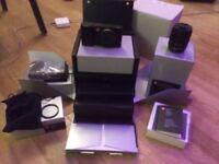 Leica T Camera Typ 701 T Body 18-56 ASPH lens Black Aluminium Gehäuse schwarz lens not silver £1250