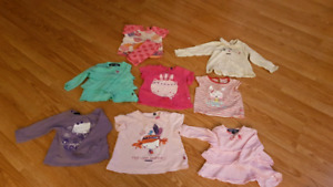 Girls clothes 12 to 24 months