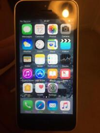 iPhone 5c White 16GB Unlocked *sim card reader not working*