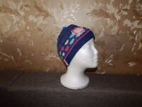 """Cap """"Little Miss Sunshine"""" Girls Blue Pink Mix New With Tags"""