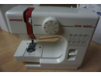 Small sewing machine janome