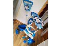 Smartrike 4 in 1 Safari Monkey. From 10 months to 4 years. Cheadle £25