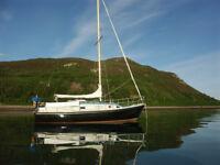 Macwester sailing boat/yacht