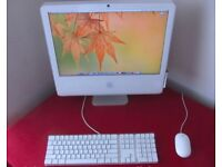 "24"" 2.16Ghz DualCore White Apple iMac 2Gb 500GB Logic Pro 9 Ableton Final Cut Microsoft Office Suite"