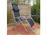 Zero Gravity Relaxing Reclining Chair Garden / Patio