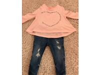 3-6 month river island outfit