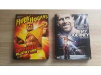 WWE DVD sets - Hulk Hogan / HBK - newish condition