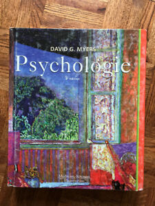 Psychology, Biology and Chemistry Textbooks (French & English)