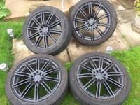 17 inch alloys multifit