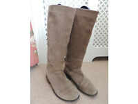 Brown Suede Boots from Next UK6.5