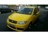 Fiat Punto 2003 low millage perfect first car