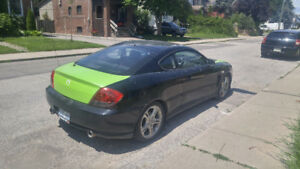 2005 Hyundai Tiburon Leather Coupe (2 door)