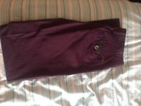Brand new Ted Baker purple chinos