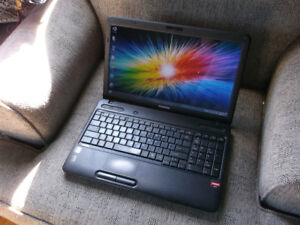 For Sale: Toshiba Satellite C650D with Windows 7 Home Premium