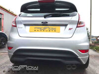 Ford Focus ST fitted with Proflow Stainless Steel Exhaust Back Box and Tail Pipe