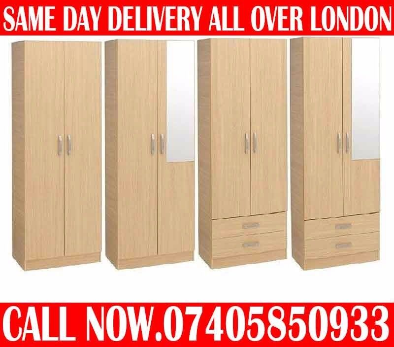 BRAND NEW PRE ASSEMBLED WARDROBE ADD MIRROR and DRAWERS Oaklandin Queens Park, LondonGumtree - Special Offer 1 Door Wardrobe ......49 Special Offer 1 Door Wardrobe with Mirror ...59 Special Offer 2 Door Wardrobe ......69 Special Offer 2 Door Wardrobe WITH 2 DRAWERS .......99 Special Offer 2 Door Wardrobe WITH 2 DRAWERS MIRROR ......109 Special...