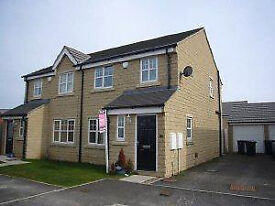 3 BED Semi-Detached, (New Build) With Garage (Available 1 August)