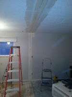 DRYWALL, TAPING, PAINTING, CALL OR TEXT WILLIAM 403-598-7232.