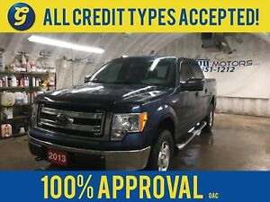 2013 Ford F-150 SUPERCREW*5.0L 32-VALVE V8*4WD*MICROSOFT SYNC*TO