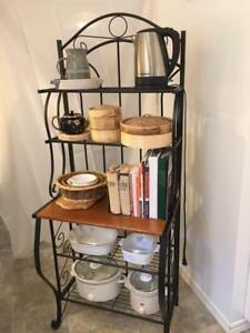 Baker's Rack -- 5 shelves