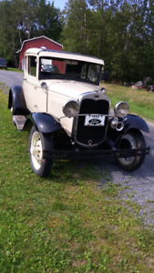 Restored Model A Ford