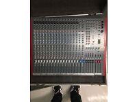 Allen & Heath ZED 420 Mixing Desk and Flight Case