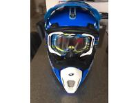 Motocross gear, Helmet ,Protection and boots