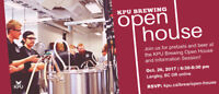 KPU Brewing Open House & Info Session