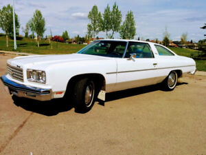 1976 Chevrolet Impala Custom Coupe - excellent cond'n, low KMs!