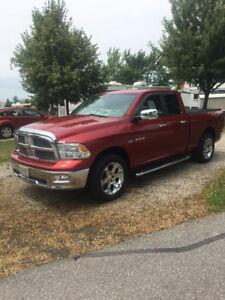 2009 Dodge Power Ram 1500 red Pickup Truck