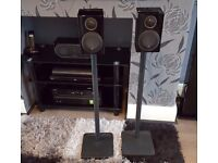 Monitor Audio Radius 90 RRP £350 with stands RRP £175 current models