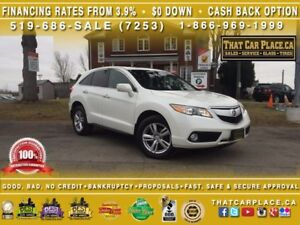 2013 Acura RDX $89/Wk-HtdLthrSts-RearCam-Bluetooth-AUX-Sunroof-V