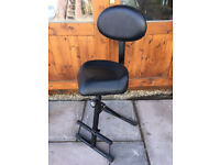 Quality Musicians Stool (Konig & Meyer) & Footrest (Excellent condition)
