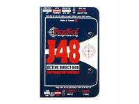 Radial Engineering J48 Active D.I BOX 48v Phantom