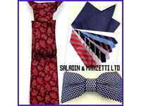 Silk Ties Enhance outfits