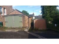Adjacent double and single garage's for sale either individually or together off Millar St. Crieff