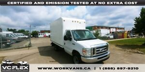 2008 Ford E-350 12Ft Single Rear Wheels 5.4L V8 + Pull Out Ramp