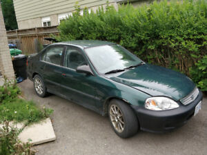 1999 Honda Civic Sedan Scrap
