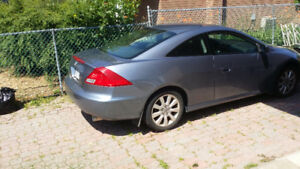 2007 Honda Accord EX-L V6 Coupe (2 door)