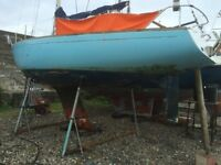 Ecume Der Mer Sailing Boat project