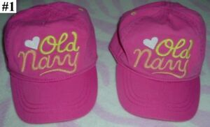 Girl's Accessories 02 --- Baseball Hat / Caps (2-6 yrs old)