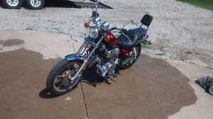 ** Yamaha Virago 1000cc motorcycle: excellent bike very low km