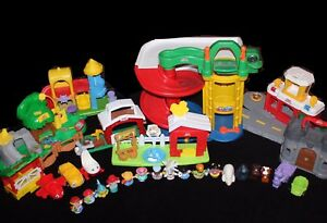 Fisher Price Little People Lot (8sets, 15 people, 5 vehicles)