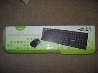 wireless keyboard & mouse bundle used