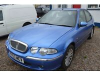 Rover 45 2003 AUTOMATIC IN GOOD CONDITION WITH MOT Until MAY 2018