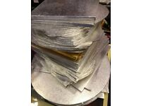 95x Cake Boards For Sale - New - Silver & Gold - Assorted Shapes