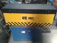 Van Racking , Pull Out Vice , Van Vault - Lockable Tool storage
