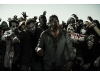 WE NEED SCARE ZOMBIES FOR UP-COMING EVENT-IN LONDON