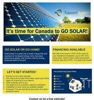 Thinking about going solar ?