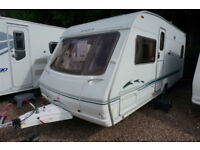 2004 SWIFT CHALLENGER 500SE 4 BERHT FIXED BED CARAVAN - GREAT SPEC